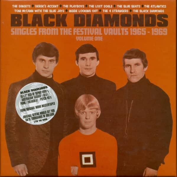 Black Diamonds Vol.1 - Festival Records 1965-1969 (10x7inch, 45rpm, SC)