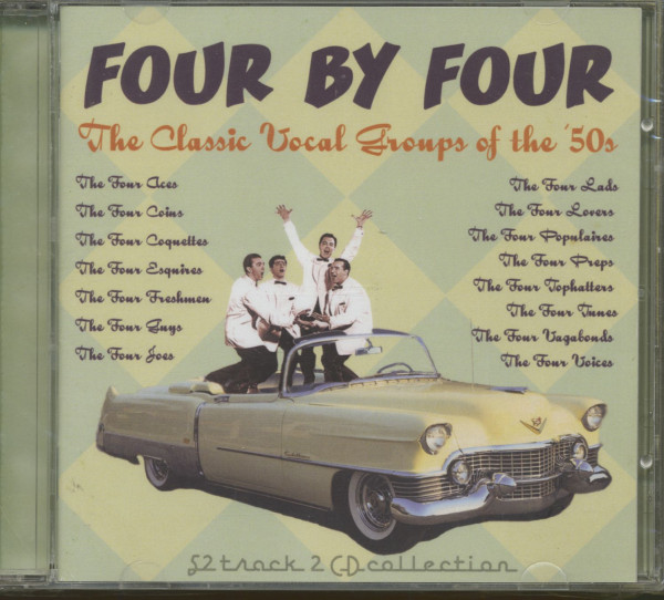 Four By Four - 50s Vocal Groups (2-CD)