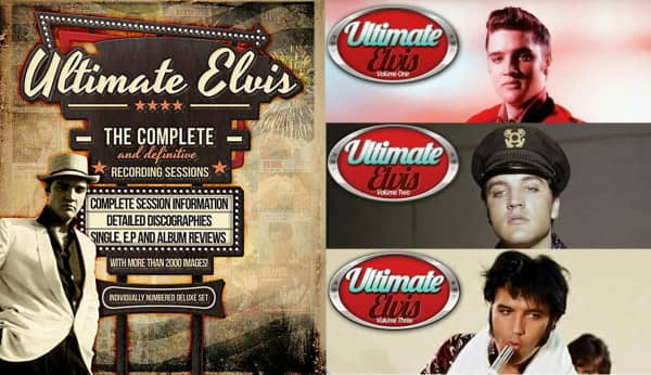 Ultimate Elvis - The Complete And Definitive Recording Sessions (3 Books w.Slipcase)