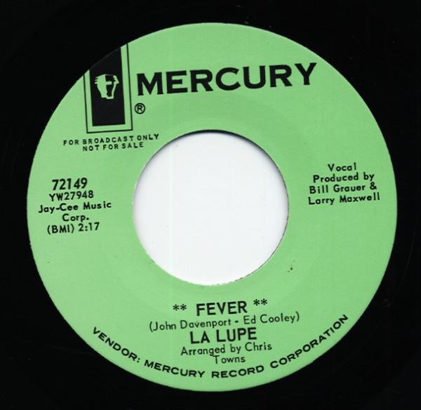 Fever b-w Ooh 45 rpm