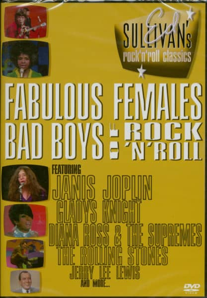 Fabulous Females & Bad Boys Of Rock (DVD)