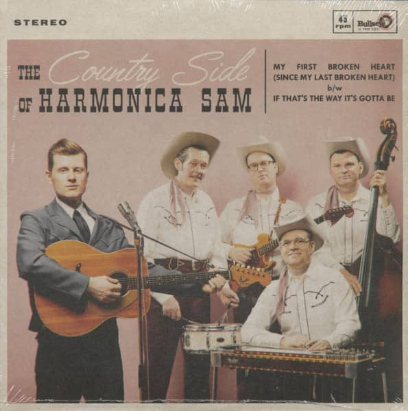 The Country Side Of Harmonica Sam (7inch, 45rpm, PS)