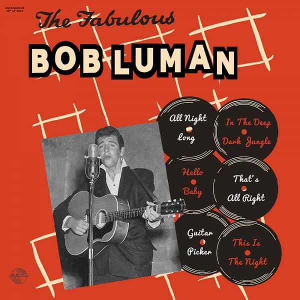 The Fabulous Bob Luman (LP, 10inch)