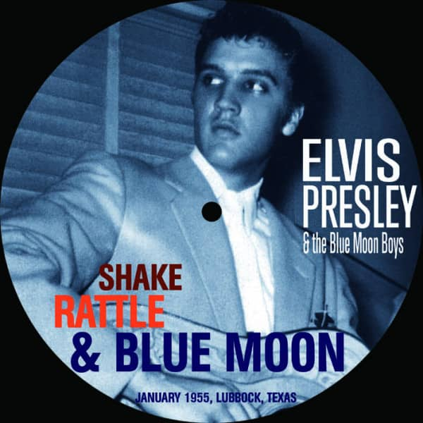 Shake Rattle & Blue Moon (7inch, 45rpm, EP, SC, Picture Disc)