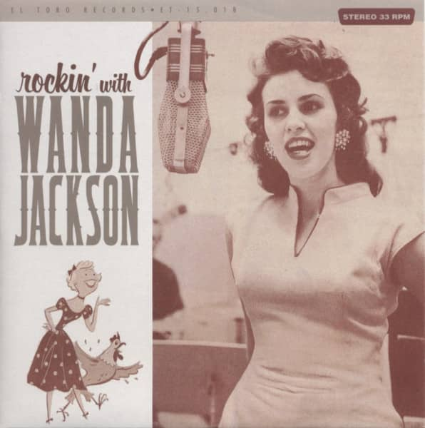 Rockin' With Wanda 33rpm, EP, PS, SC - colored wax, ltd.