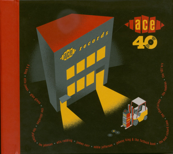 ACE Records 40th Anniversary Single Box Set (7x45rpm, Deluxe Edition)