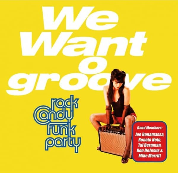 We Want Groove (CD-DVD)
