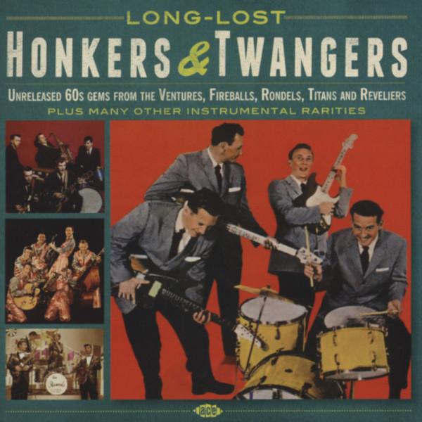 Long-Lost - Honkers & Twangers