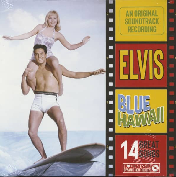 Blue Hawaii - Soundtrack (LP, 180g Vinyl)