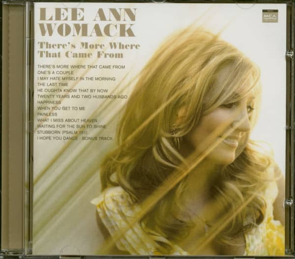There's More Where That Came From (CD)