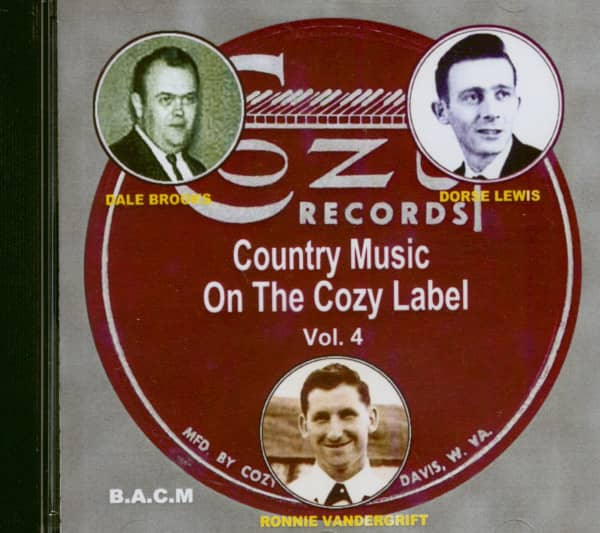 Country Music On The Cozy Label Vol.4 (CD)