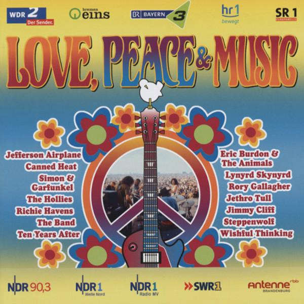 Love, Peace & Music (2-CD)