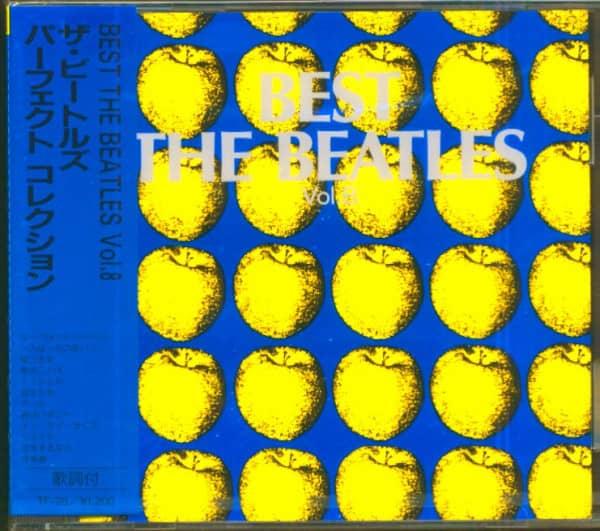 Best - The Beatles, Vol.8 (CD, Japan)