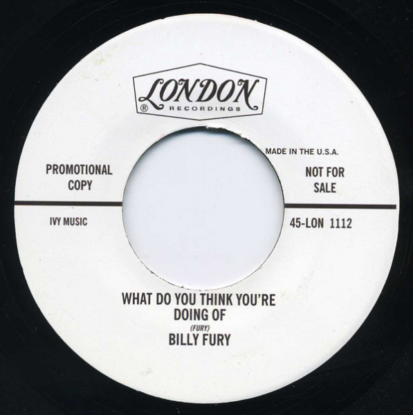 Bye Bye - What Do You Think You're Doing..7inch, 45rpm