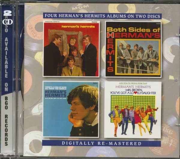 Herman's Hermits - Both Sides Of - There's A Kind Of Hush All Over The World - Mrs Brown, You've Got A Lovely Daughter (2-CD)