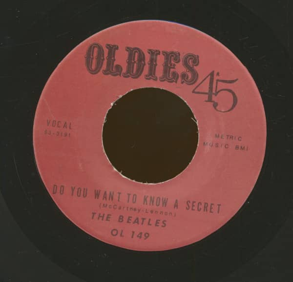 Do You Want To Know A Secret - Thank You Girl (7inch, 45rpm)