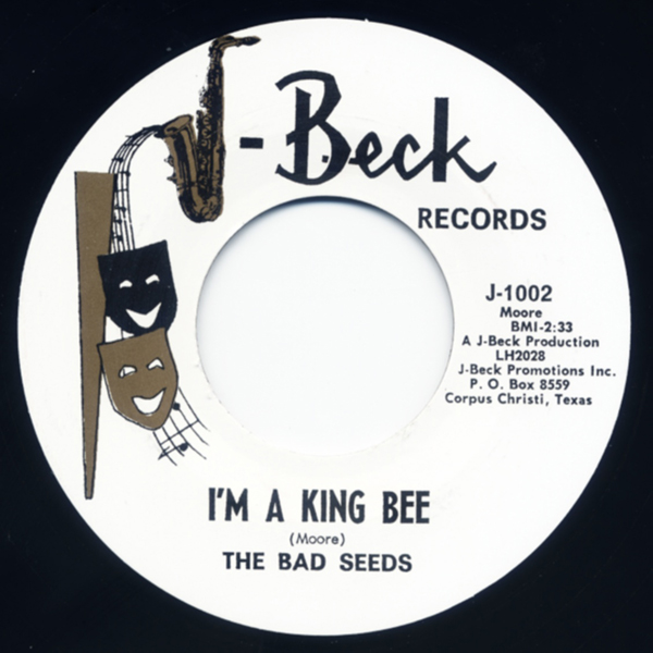 bad seeds 7 i 39 m a king bee a taste of the same 7inch 45rpm bear family records. Black Bedroom Furniture Sets. Home Design Ideas