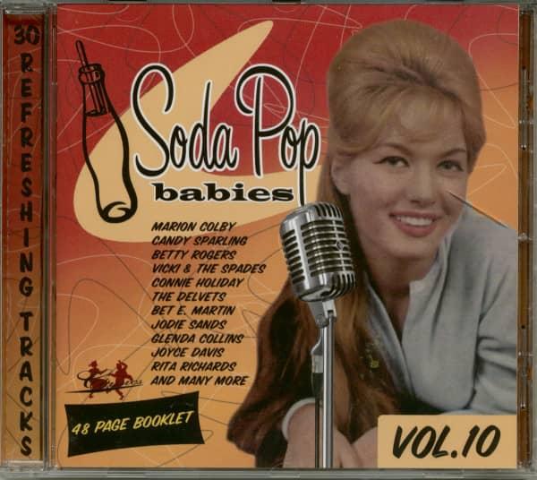 Soda Pop Babies Vol.10 (CD)