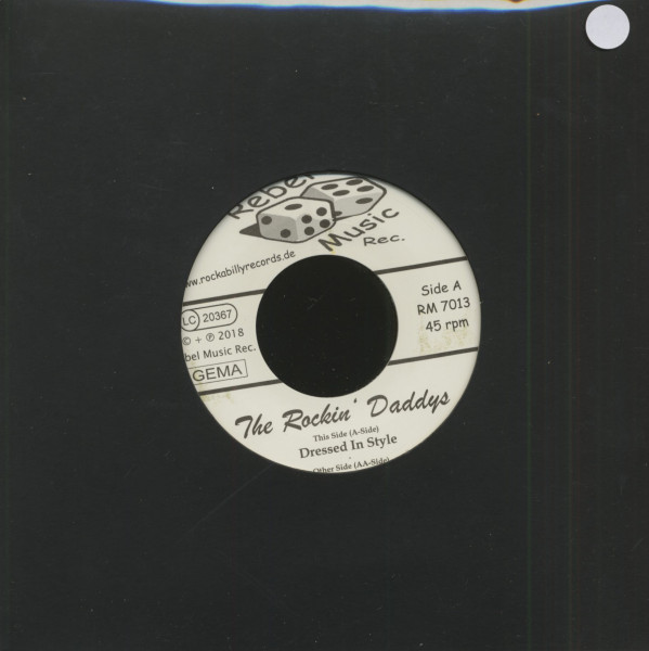 Dressed In Style - Proud To Be (7inch, 45rpm, Colored Vinyl)