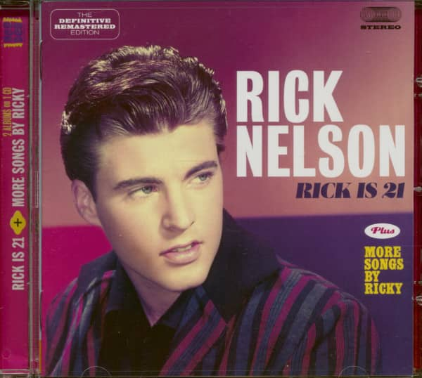 Rick Is 21 plus more songs by Ricky (CD)