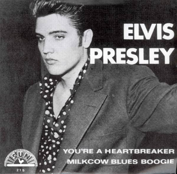 You're A Heartbreaker - Milkcow Blues Boogie (7inch, 45rpm, PS)