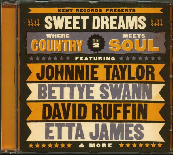 Sweet Dreams - Where Country Meets Soul Vol.2 (CD)