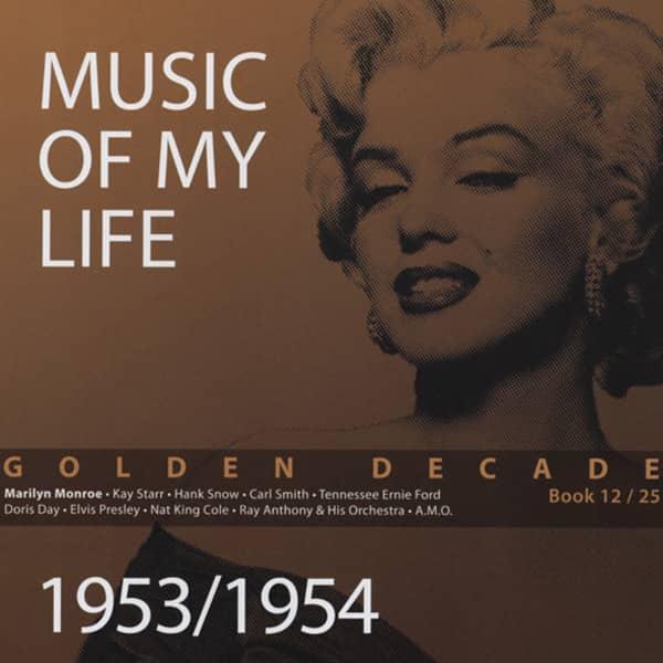 1953 - 54 Golden Decade (Book & 4-CD) #12-25