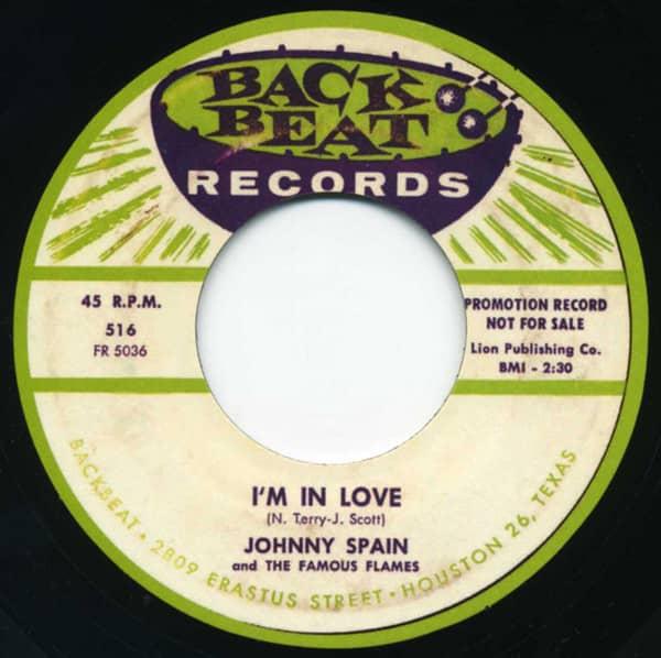I'm In Love b-w Family Rules 7inch, 45rpm