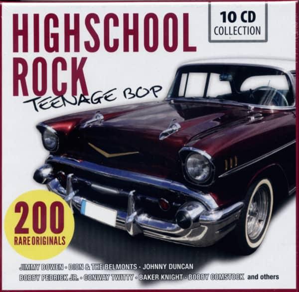 Highschool Rock - Teenage Bop (10-CD)