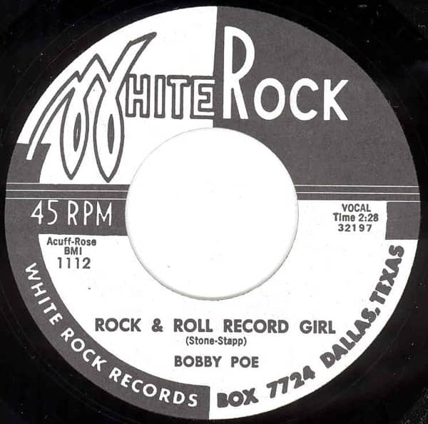 Rock & Roll Record Girl - Rock & Roll... 7inch, 45rpm