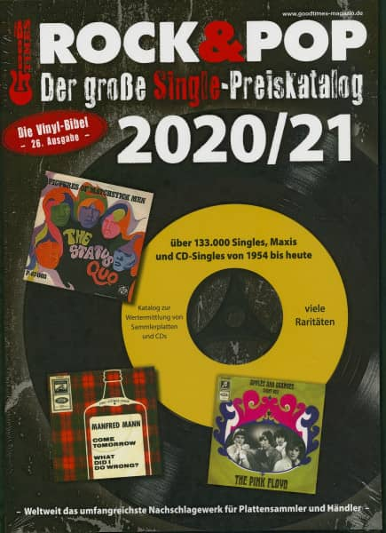 Der große Rock & Pop Single Preiskatalog 2020-21