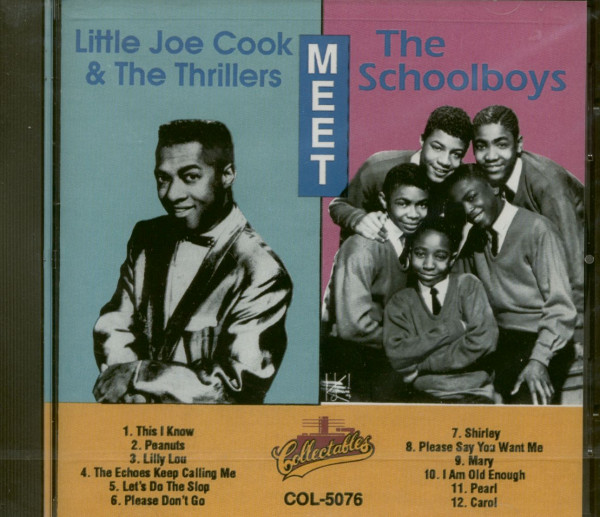 Little Joe's Thrillers Meet The Schoolboys (CD)