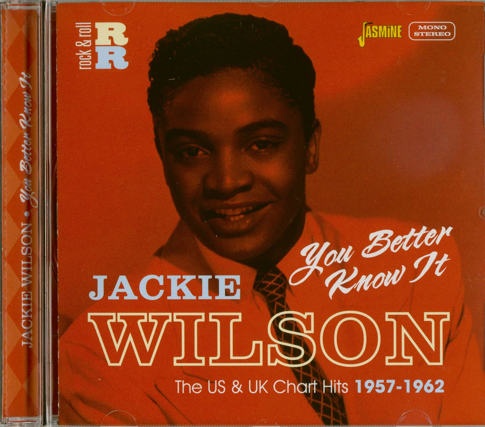Jackie Wilson CD: You Better Know It - Bear Family Records