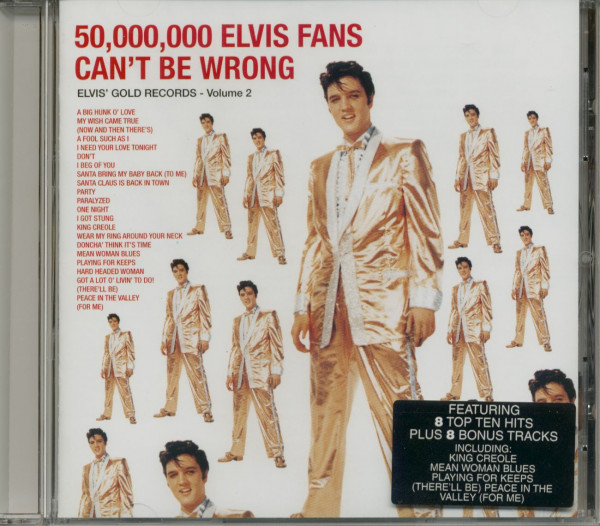 50.000.000 Elvis Fans Can't Be Wrong - Elvis' Gold Records Vol.2 (CD)