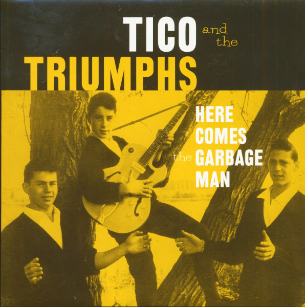 Here Comes The Garbage Man - The Biggest Lie I Ever Told (7inch, 45rpm, PS)
