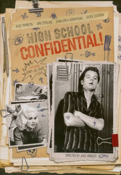 High School Confidential (1958) co-starring Jerry Lee Lewis (DVD)