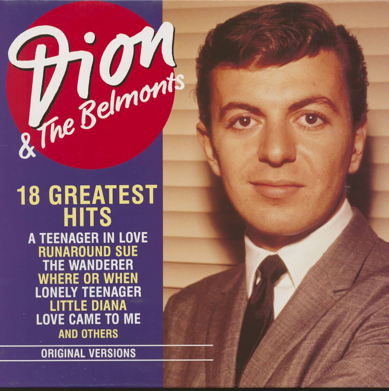 Dion and The Belmonts CD Single Classic