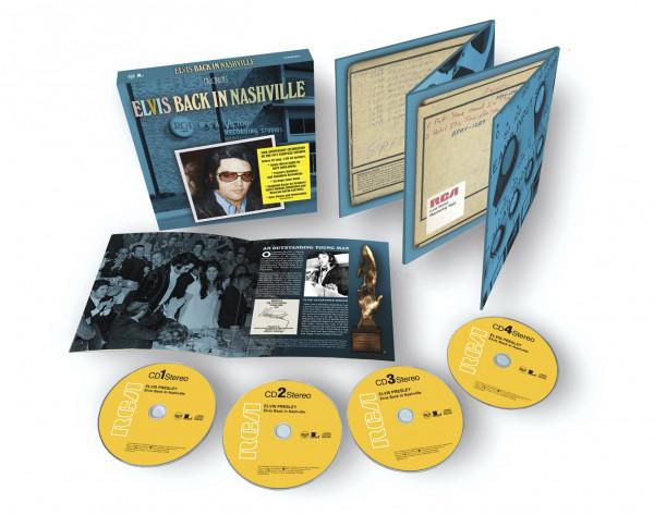 Elvis Back In Nashville (4-CD)