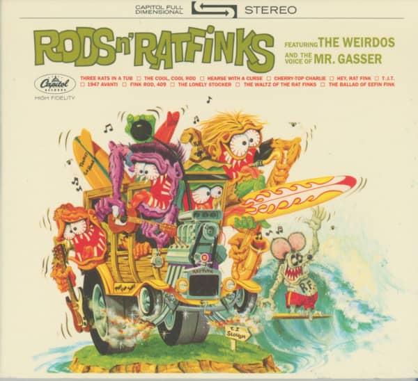 Rods 'n' Ratfinks (1964) Limited Edition