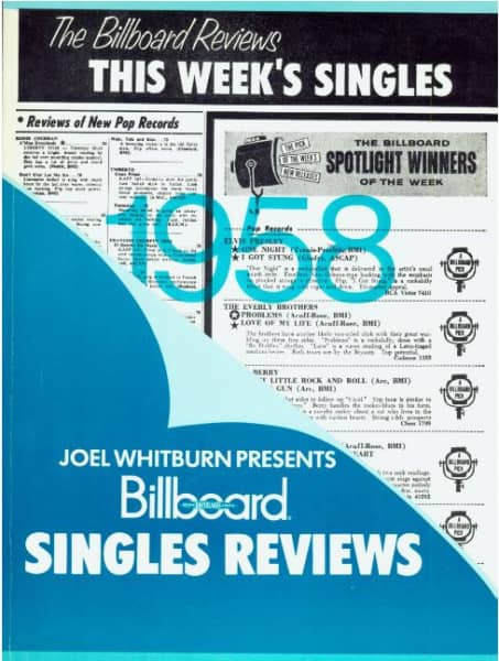 Joel Whitburn Presents - Billboard Singles Reviews 1958