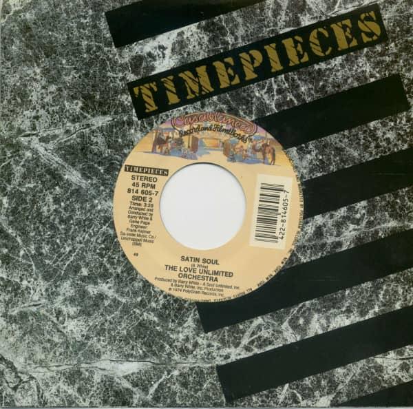 Love's Theme (Instrumental) - Satin Soul (7inch, 45rpm, BC, CS)