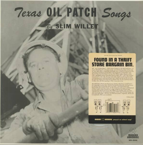 Texas Oil Patch Songs (LP, Blue Vinyl)