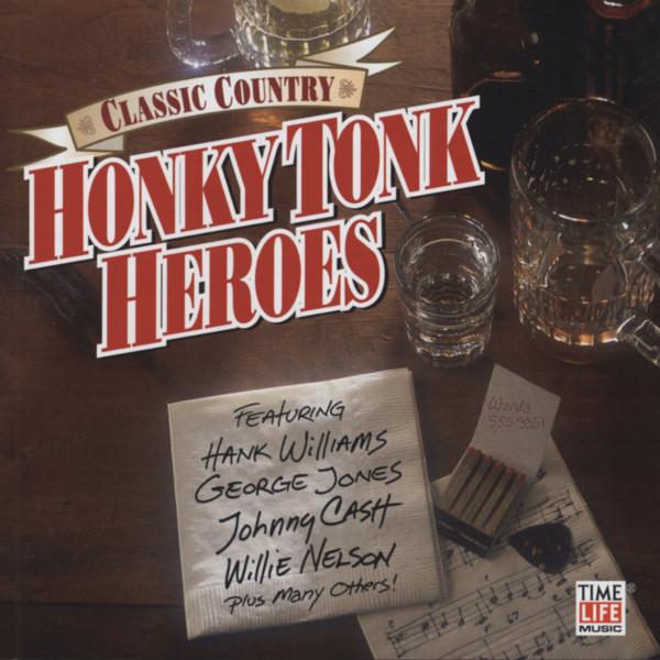 Honky Tonk Heroes (2-CD) Classic Country Seri