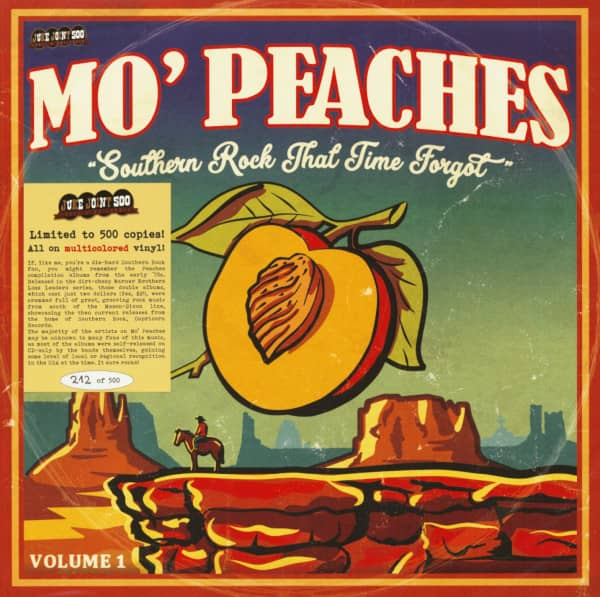 Mo' Peaches - Southern Rock That Time Forgot Vol.1 (LP, Colored Vinyl, Ltd.)