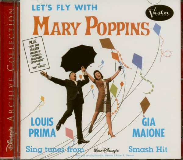 Let's Fly With Mary Poppins (CD, Ltd.)