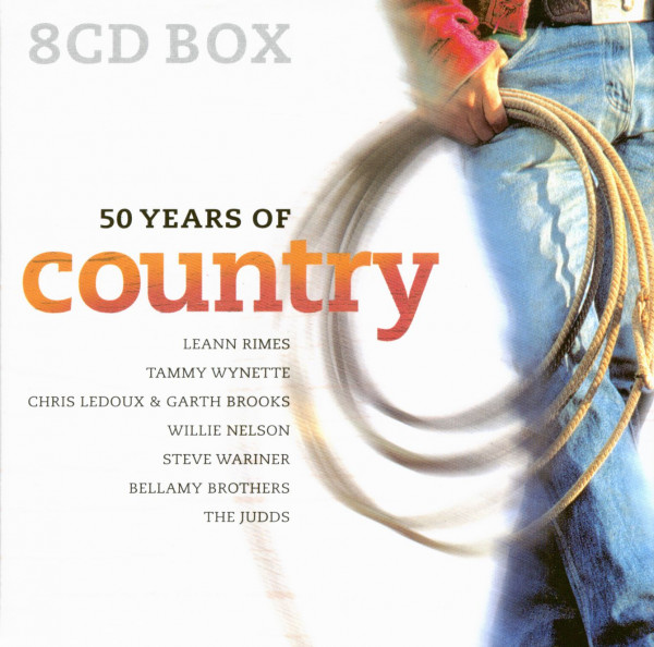 50 Years Of Country (8-CD)