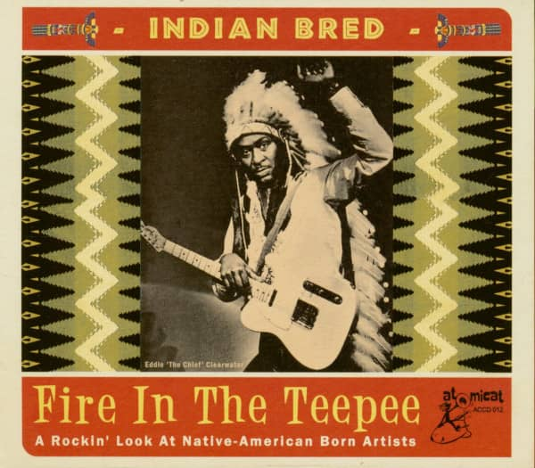 Indian Bred Vol.1 - Fire In The Teepee (CD)