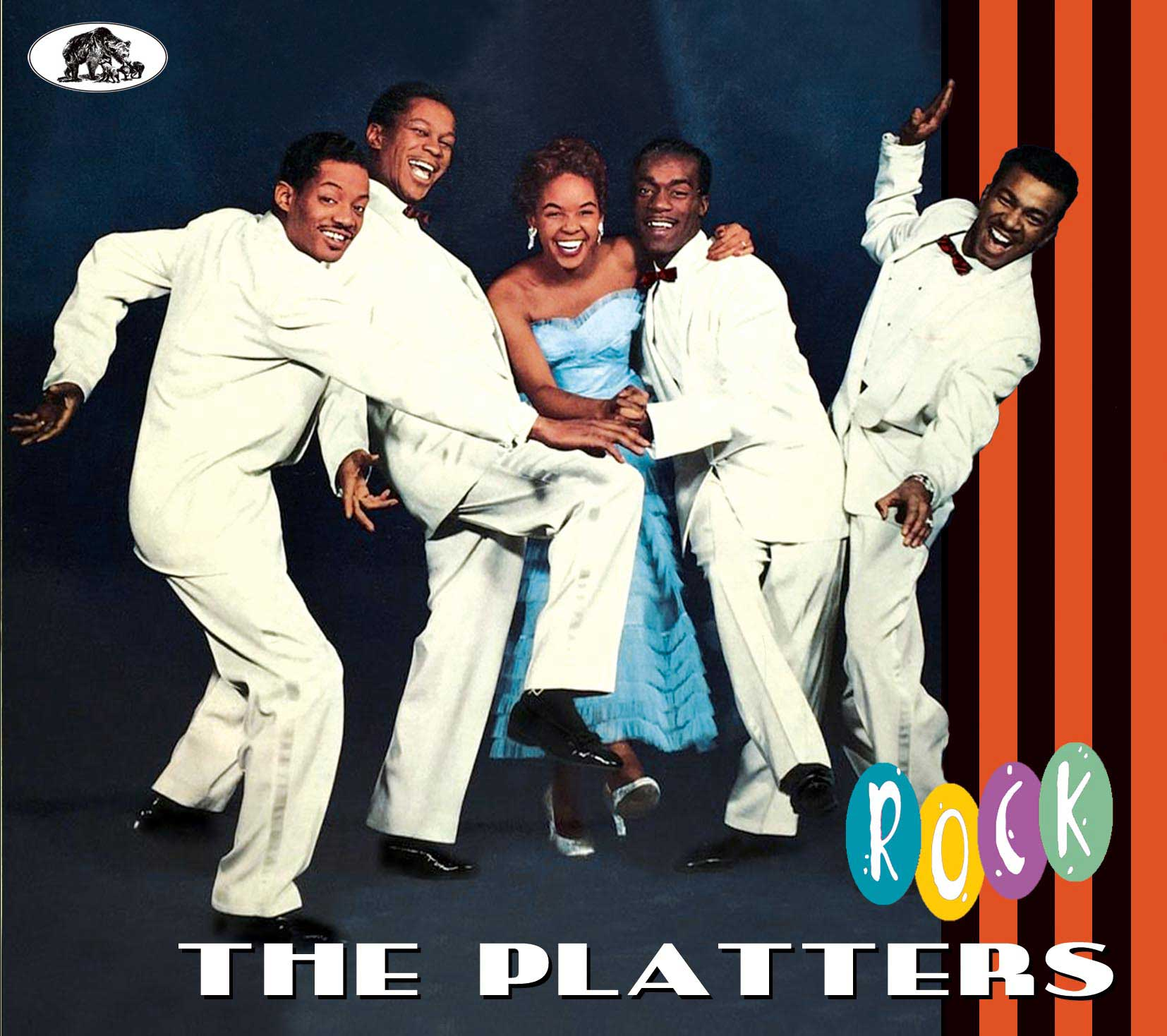 The Platters Cd The Platters Rock Cd Bear Family