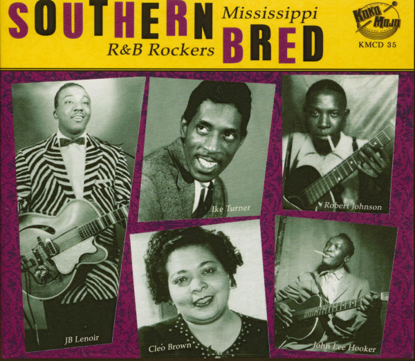 Southern Bred Vol.2 - Mississippi R&B Rockers (CD)
