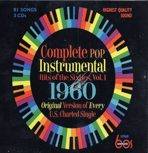 Complete Pop Instrumental Hits Of The Sixties (3-CD)